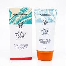 Alfredo Feemas Daily Soft Touch Sun Bluck Cream SPF 50/PA+++ 70ml - Солнцезащитный крем 70мл