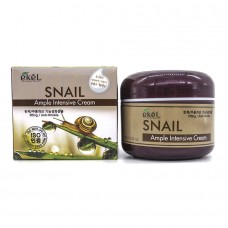 Ekel Ample Intensive Cream Snail - Крем для лица с экстрактом муцина улитки 100г