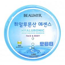 Juno Beaumyr Hyaluronic Moisturizing Essence Face & Body - Увлажняющая эссенция для лица и тела с гиалуроновой кислотой 300мл