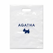 Пакет с логотипом Agatha (промо-пакет) 30x40 см